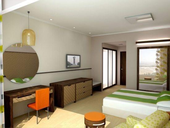 עיצוב פנים מודרני של חדר שינה