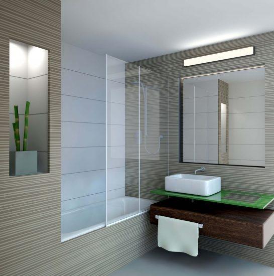 עיצוב פנים מודרני של חדר רחצה